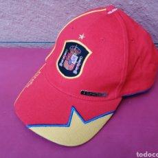 Coleccionismo deportivo: GORRA NUEVA MUNDIAL DE FÚTBOL ESPAÑA COPA CAMPEÓN GORRO CAP. Lote 218686113