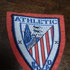Colecionismo desportivo: ESCUDO ATLETI BILBAO. TELA. PAPEL-35. Lote 209689848
