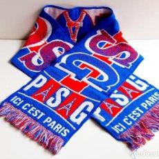 Coleccionismo deportivo: BUFANDA ORIGINAL PSG PARIS - 140 X 23.CM. Lote 209973128