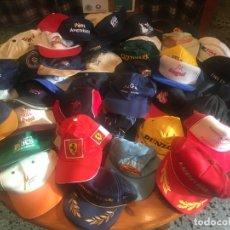 Coleccionismo deportivo: GORRAS COLECCION LOTE 42 GORRAS DIFERENTES,. Lote 211607341