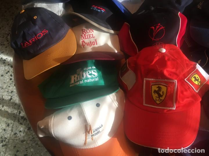 Coleccionismo deportivo: gorras coleccion lote 42 gorras diferentes, - Foto 2 - 211607341