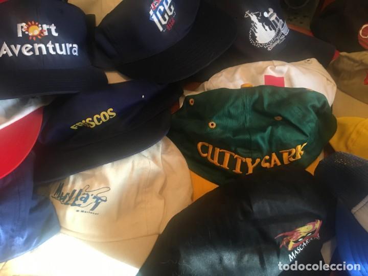 Coleccionismo deportivo: gorras coleccion lote 42 gorras diferentes, - Foto 6 - 211607341
