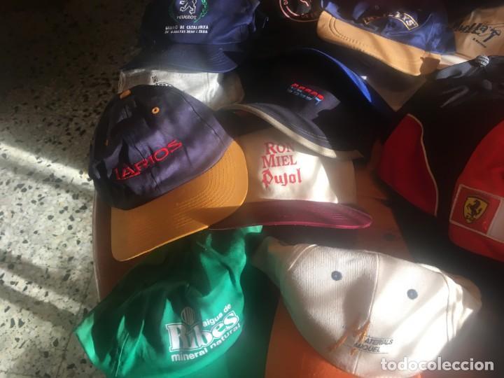 Coleccionismo deportivo: gorras coleccion lote 42 gorras diferentes, - Foto 7 - 211607341