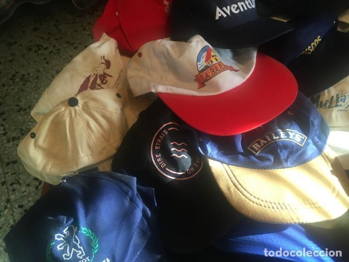 Coleccionismo deportivo: gorras coleccion lote 42 gorras diferentes, - Foto 8 - 211607341