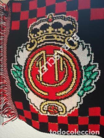 Coleccionismo deportivo: ANTIGÜA BUFANDA - ULTRAS DEL MALLORCA - REVERSIBLE - NUEVA SIN ESTRENAR - Foto 3 - 211920940