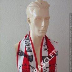 Coleccionismo deportivo: ANTIGÜA BUFANDA -AJAX AMSTERDAM- UEFACUP- NUEVA SIN ESTRENAR. Lote 211958050