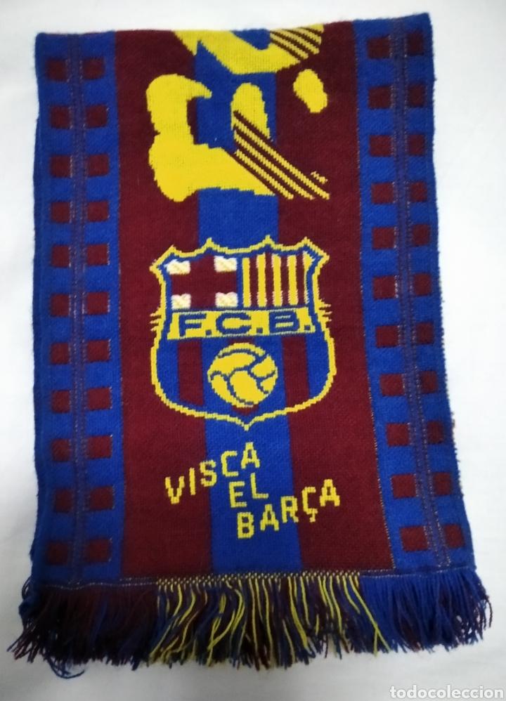 BUFANDA DEL F. C. BARCELONA (Coleccionismo Deportivo - Ropa y Complementos - Complementos deportes)