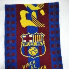 Coleccionismo deportivo: BUFANDA DEL F. C. BARCELONA. Lote 213033905