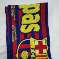 Coleccionismo deportivo: BUFANDA DEL F. C. BARCELONA. Lote 213033921