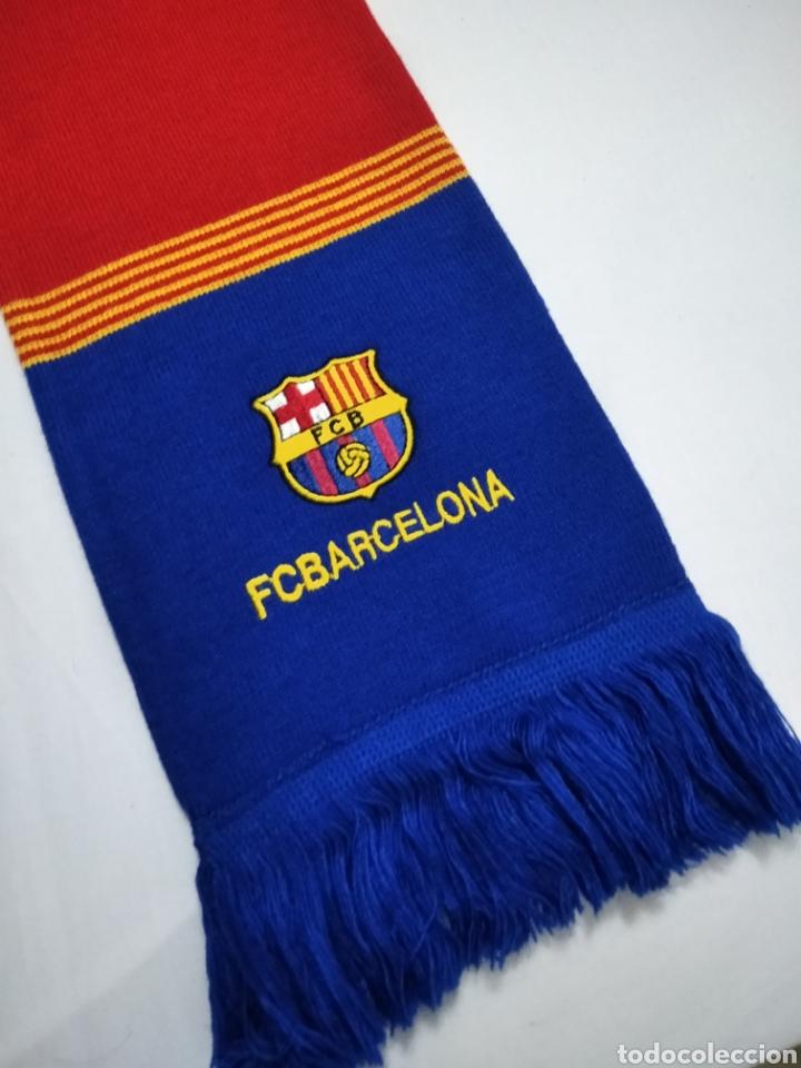 Coleccionismo deportivo: BUFANDA DEL F. C. BARCELONA. - Foto 2 - 213033932