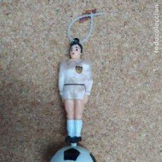 Coleccionismo deportivo: AMBIENTADOR DE COCHE DEL VALENCIA C. F. CAJA 4. Lote 213100426