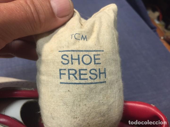 Coleccionismo deportivo: raras zapatillas firma emerson emmo fittipaldi arco puma made in brasil formula 1 11x29x10cms - Foto 5 - 213450073