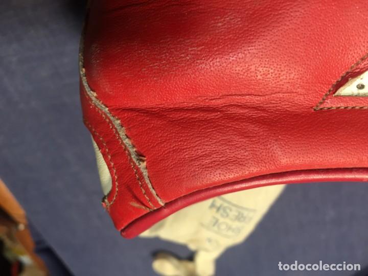 Coleccionismo deportivo: raras zapatillas firma emerson emmo fittipaldi arco puma made in brasil formula 1 11x29x10cms - Foto 7 - 213450073