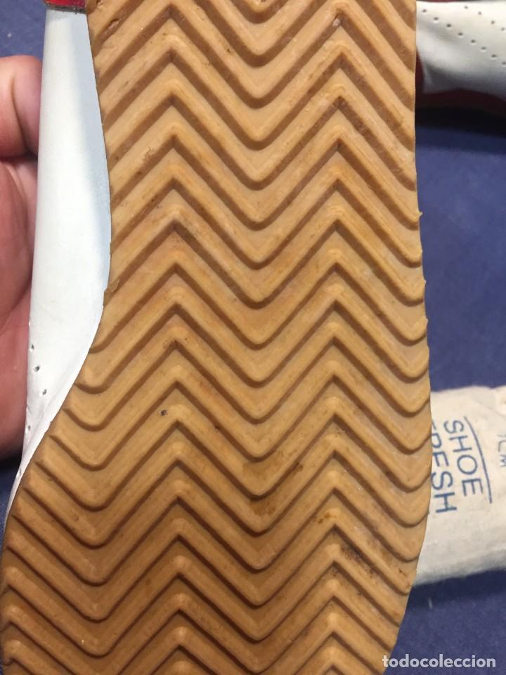 Coleccionismo deportivo: raras zapatillas firma emerson emmo fittipaldi arco puma made in brasil formula 1 11x29x10cms - Foto 14 - 213450073