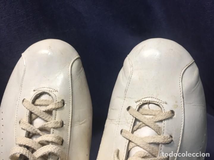 Coleccionismo deportivo: raras zapatillas firma emerson emmo fittipaldi arco puma made in brasil formula 1 11x29x10cms - Foto 28 - 213450073