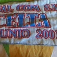 Coleccionismo deportivo: BUFANDA DEL CELTA DE VIGO SAD. Lote 214015456