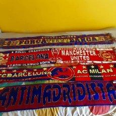 Coleccionismo deportivo: LOTE BUFANDAS FC BARCELONA. Lote 214016282