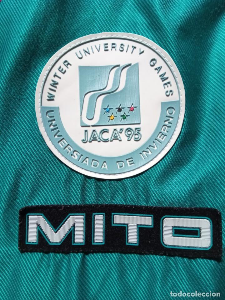 Coleccionismo deportivo: Anorak MITO Edición Universiada de Invierno JACA 1995 - Foto 3 - 214476133