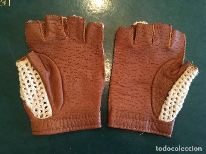 Coleccionismo deportivo: guantes para conducir o conductor, de piel , nuevos - Foto 3 - 214533363