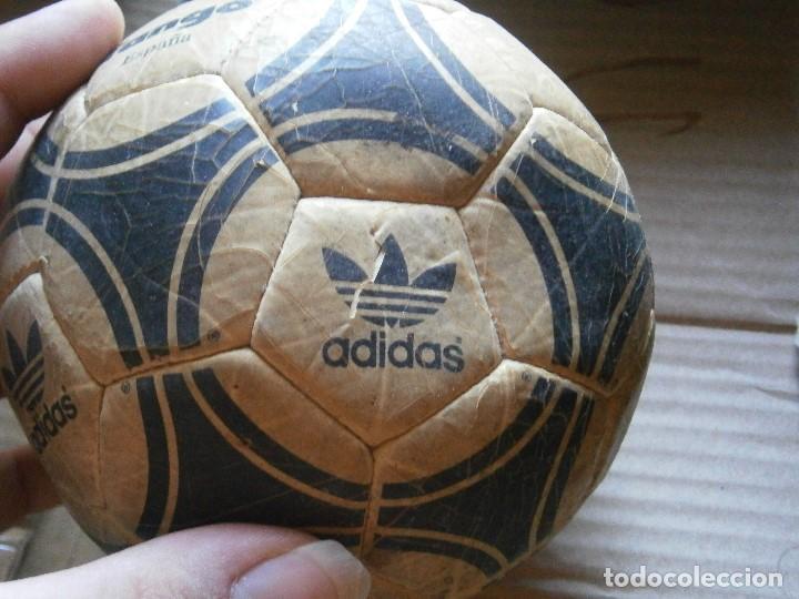 Coleccionismo deportivo: ¡¡ PRECIOSO BALON TANGO VIEJO ADIDAS TANGO¡¡ - Foto 4 - 215820595