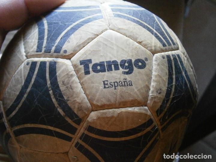 Coleccionismo deportivo: ¡¡ PRECIOSO BALON TANGO VIEJO ADIDAS TANGO¡¡ - Foto 8 - 215820595