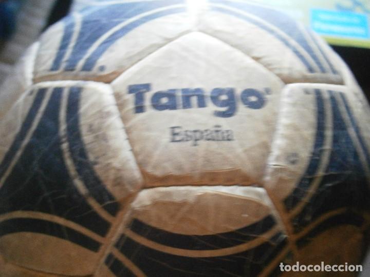 Coleccionismo deportivo: ¡¡ PRECIOSO BALON TANGO VIEJO ADIDAS TANGO¡¡ - Foto 10 - 215820595