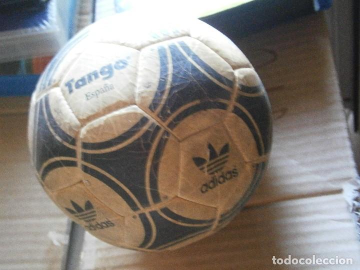 Coleccionismo deportivo: ¡¡ PRECIOSO BALON TANGO VIEJO ADIDAS TANGO¡¡ - Foto 12 - 215820595