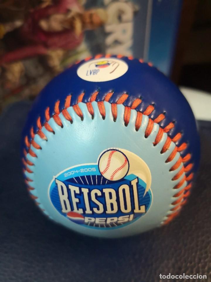 Coleccionismo deportivo: Pelota de beisbol de colección conmemorativa beisbol Pepsi. LVBP TIGRES DE ARAGUA - Foto 2 - 216957847