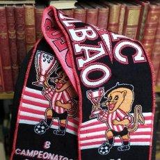Coleccionismo deportivo: BUFANDA ATHLETIC CLUB BILBAO BUFANDA-02. Lote 296621048