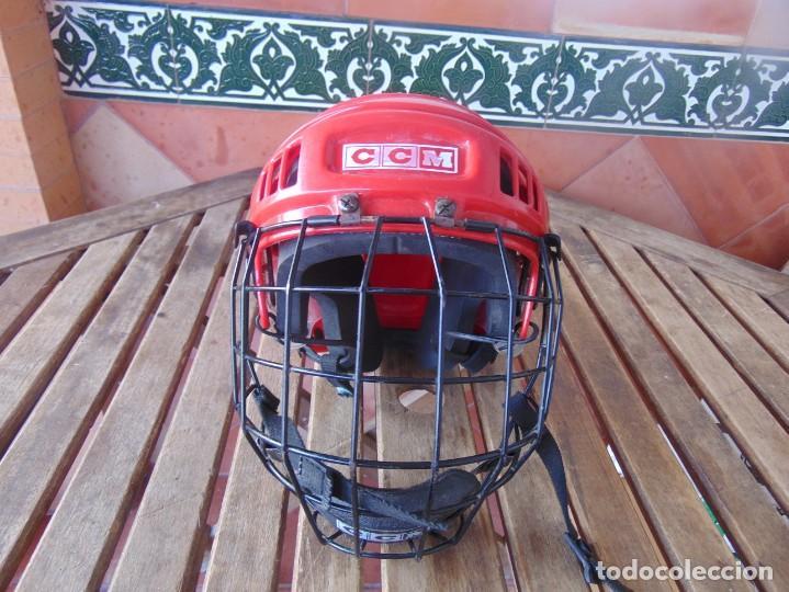 CASCO , PROTECTOR DE HOCKEY SM - 15 USA DEPORTE (Coleccionismo Deportivo - Ropa y Complementos - Complementos deportes)