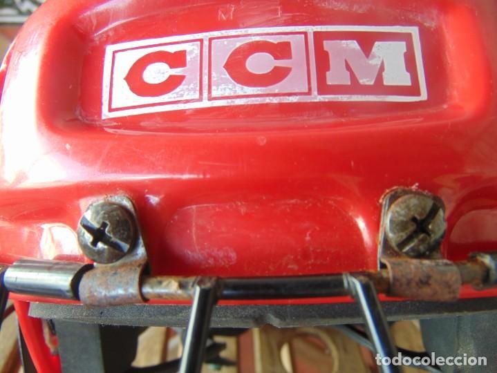 Coleccionismo deportivo: CASCO , PROTECTOR DE HOCKEY SM - 15 USA DEPORTE - Foto 2 - 217826063