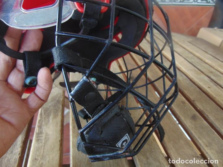 Coleccionismo deportivo: CASCO , PROTECTOR DE HOCKEY SM - 15 USA DEPORTE - Foto 4 - 217826063