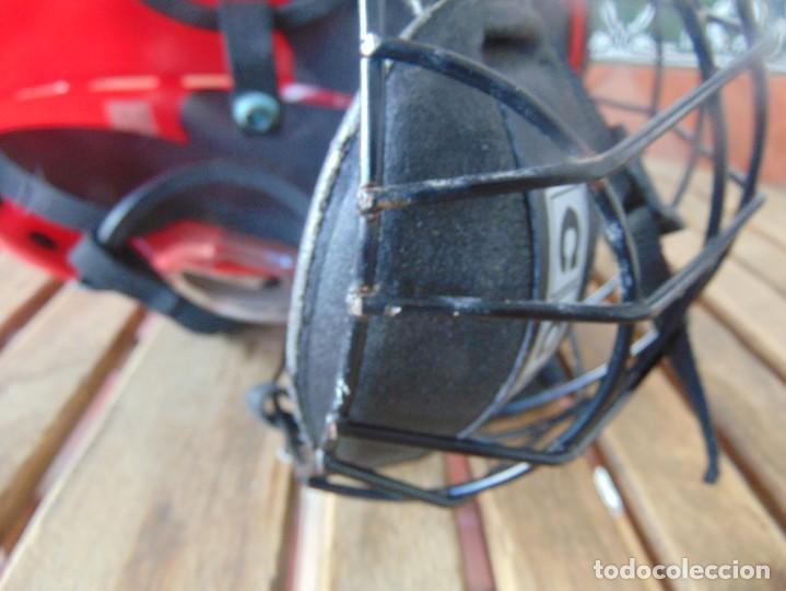 Coleccionismo deportivo: CASCO , PROTECTOR DE HOCKEY SM - 15 USA DEPORTE - Foto 5 - 217826063