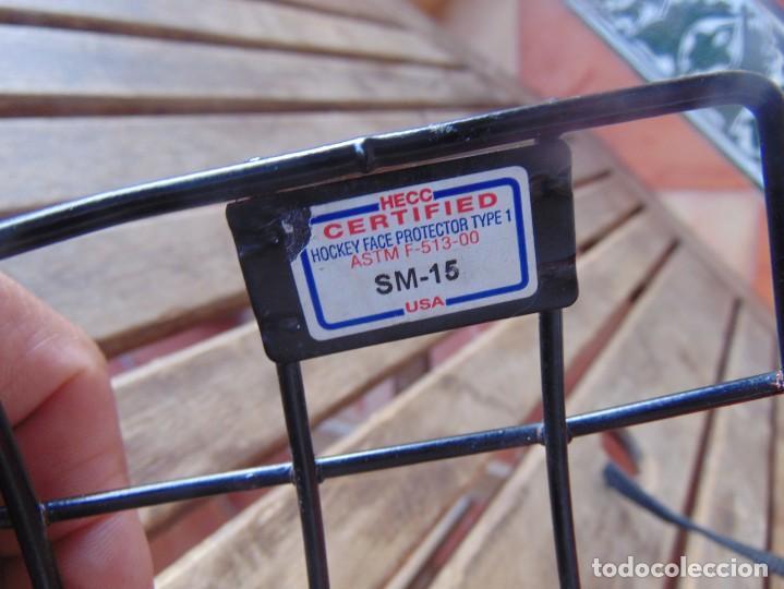 Coleccionismo deportivo: CASCO , PROTECTOR DE HOCKEY SM - 15 USA DEPORTE - Foto 10 - 217826063
