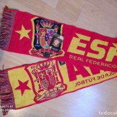 Coleccionismo deportivo: BUFANDA ESPAÑA-REAL FEDERACIÓN ESPAÑOLA DE FUTBOL. Lote 219090538