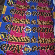 Coleccionismo deportivo: FC BARCELONA ULTRAS BOIXOS NOIS HOOLIGAN ULTRA SABANA PARA RECORTE BUFANDA SCARF FOOTBALL FUTBOL. Lote 219962743