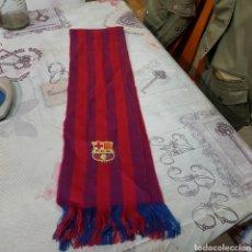 Coleccionismo deportivo: BUFANDA DEL F.C.BARCELONA. Lote 220973395