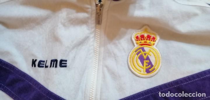 Coleccionismo deportivo: G-45 CHANDAL DEL REAL MADRID CHAQUETA Y PANTALON KELME TALLA CHICA XS VER FOTOS - Foto 2 - 265954238