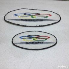 Coleccionismo deportivo: ORIGINALES PARCHES BORDADOS OLIMPIADAS BARCELONA 92. Lote 221565265