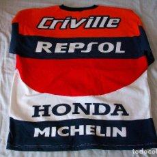 Coleccionismo deportivo: MOTOCICLISMO ALEX CRIVILLÈ 2 SUDADERAS OFICIALES+GORRA CAMPEON DEL MUNDO. Lote 221812775