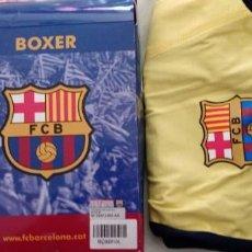 Coleccionismo deportivo: CALZONCILLOS BOXER BARÇA FCB BARCELONA SU CAJA OFICIAL NUEVO. Lote 222968170