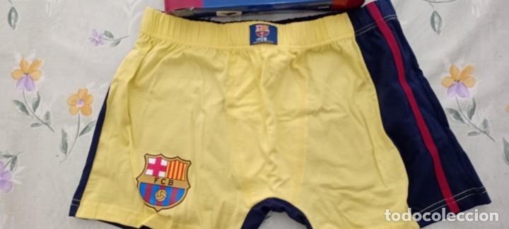 Coleccionismo deportivo: Calzoncillos boxer Barça FCB barcelona su caja oficial nuevo - Foto 2 - 222968170