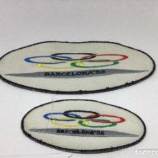 Coleccionismo deportivo: ORIGINALES PARCHES BORDADOS OLIMPIADAS BARCELONA 92. Lote 223427771