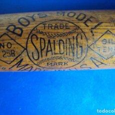 Coleccionismo deportivo: (F-201124)ANTIGUO BATE DE BEISBOL MARCA SPALDING - SCHOOL BOY - MADE IN USA. Lote 224328453