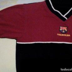 Coleccionismo deportivo: RC1. /CAMISETA PARA NIÑO/F.C BARCELONA/MIDE 40 CM DE AXILA A AXILA. Lote 224642470