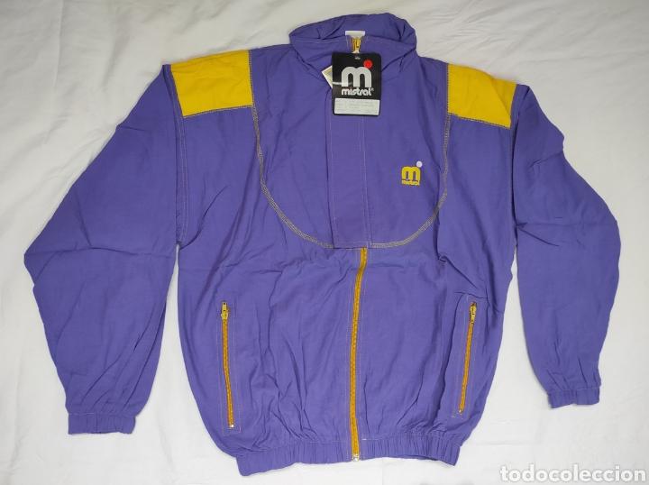 Coleccionismo deportivo: Chándal Mistral M SIN USO Procedente de tienda de deportes años 80 - Foto 2 - 225726648