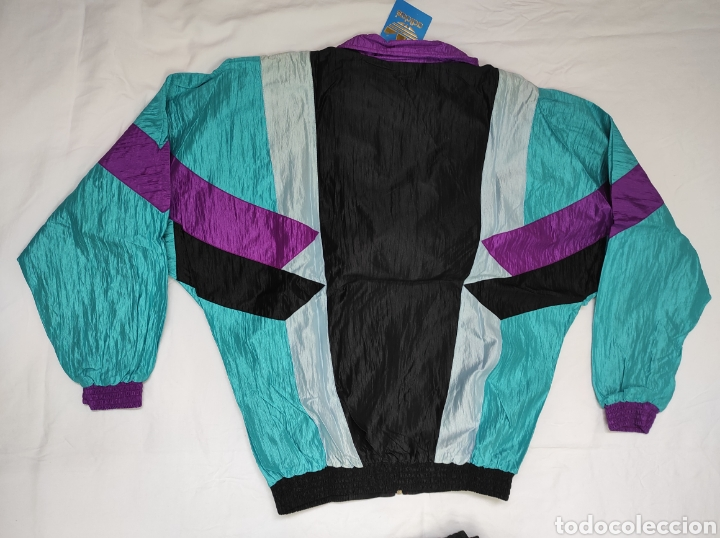 Coleccionismo deportivo: Chándal Adidas hecho en España Años 80 SIN USO Procedente de tienda de deportes - Foto 4 - 225739938
