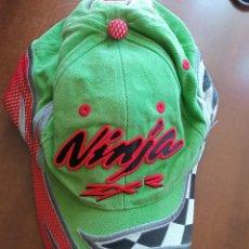 Collectionnisme sportif: NINJA ZXR MOTO KAWASAKI GORA CAP MOTOGP MOTO GORRA. Lote 225890323
