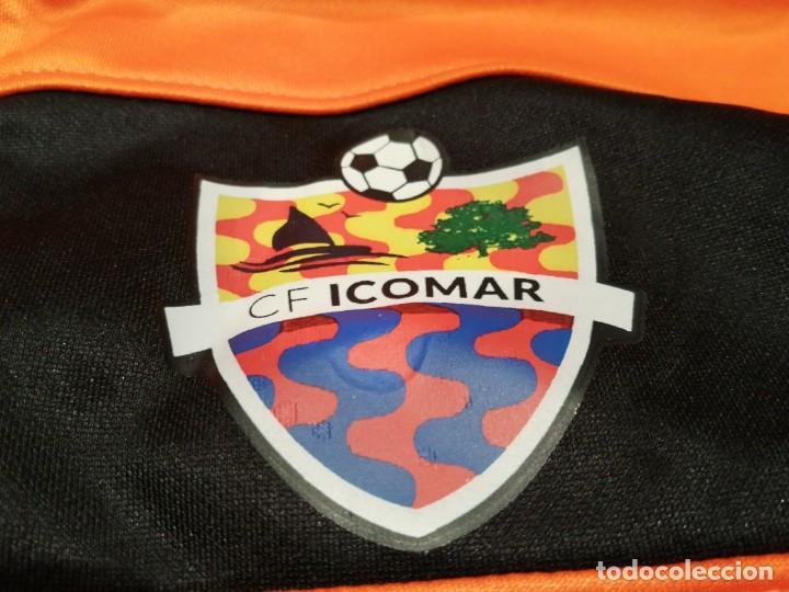 Coleccionismo deportivo: ORIGINAL | FÚTBOL | TALLA S| CF ICOMAR (nueva con etiquetas) Exclusiva TC - Foto 3 - 226118142
