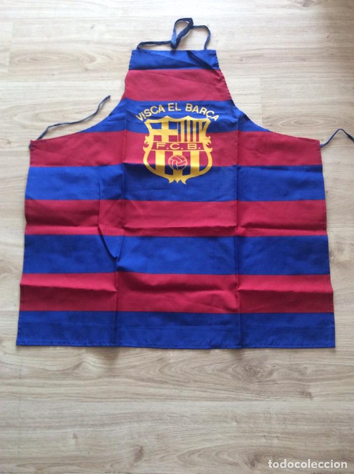 FÚTBOL CLUB BARCELONA DELANTAL DE COCINA (Coleccionismo Deportivo - Ropa y Complementos - Complementos deportes)